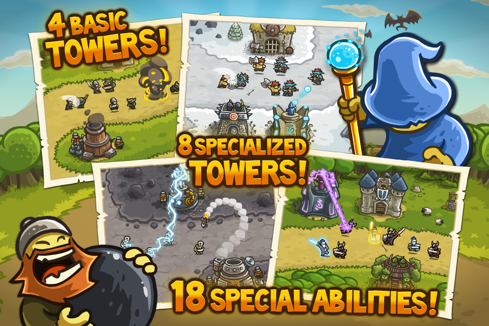 Kingdom Rush iPhone, iPad Screenshot