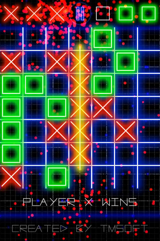 Screenshot Tic Tac Toe Glow by TMSOFT